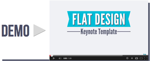 Flat Design Keynote Template